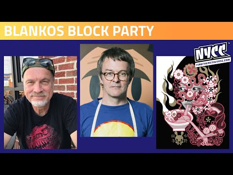 Blankos Block Party with James Groman, Pete Fowler & Junko Mizuno