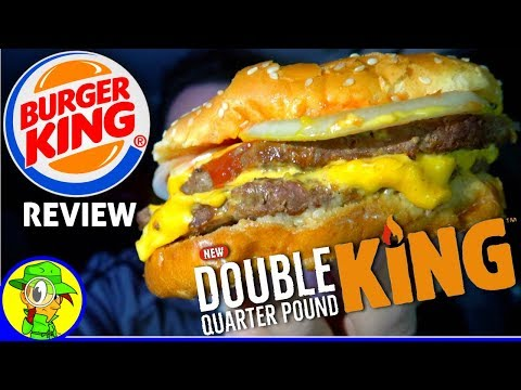 Burger King® | Double Quarter Pound King™ Review! 🍔👑