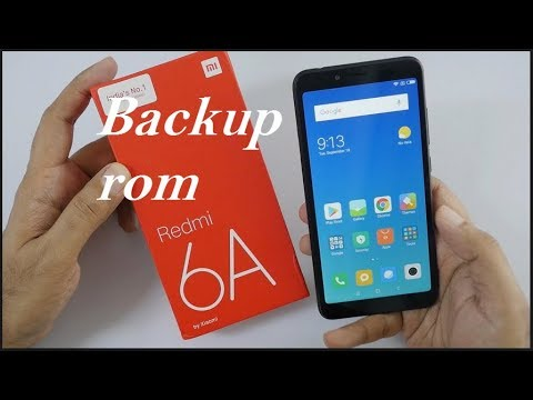 Unbrick Redmi 6A The system has been destroyed with Smart Phone