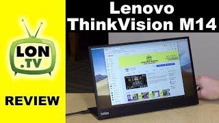 Lenovo ThinkVision M14 Portable USB-C Display Review