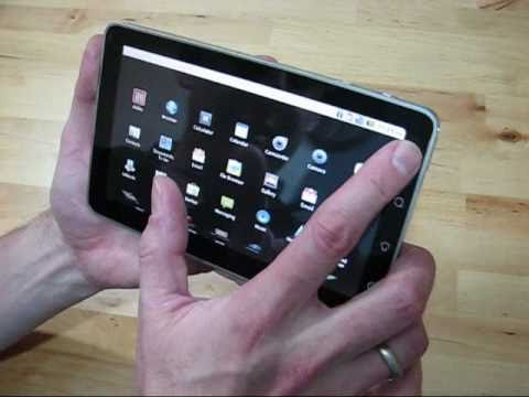 Viewsonic Viewpad 7 Android Tablet - Unboxing