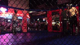 Texans MMA La Porte TX 5th. MMA Fight Cody Goins VS David Shahid 04-07-2012