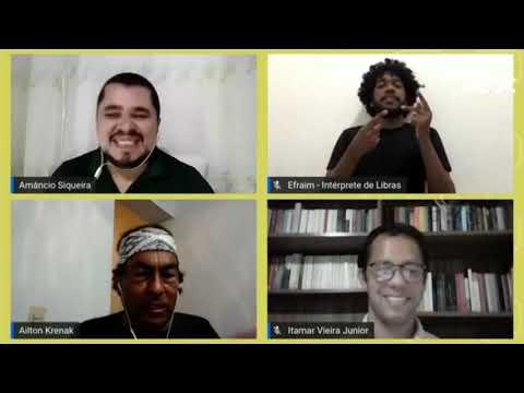 Conversa com Ailton Krenak e Itamar Vieira Junior pelo Arte da Palavra