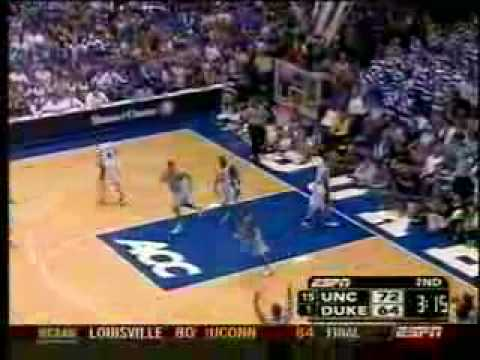 Video: Tyler Hansbrough 3-pointer vs. Duke