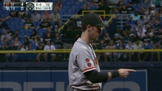 SF@TB: Duffy makes a fantastic diving stop in the 6th