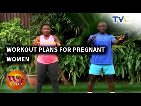 Pregnant Woman Challenges Viewers To Energetic Workout Session