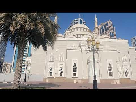Adhaan Salaat Dhuhr in Sharjah at Masjid Al Noor