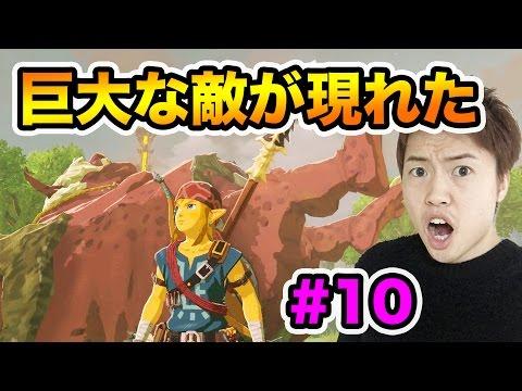 【ゼルダの伝説】ついに巨大な敵が現れた!四神獣を探しに行こう!#10
