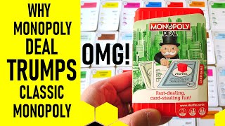 Why Monopoly Deal Trumps Classic Monopoly The Board Game
