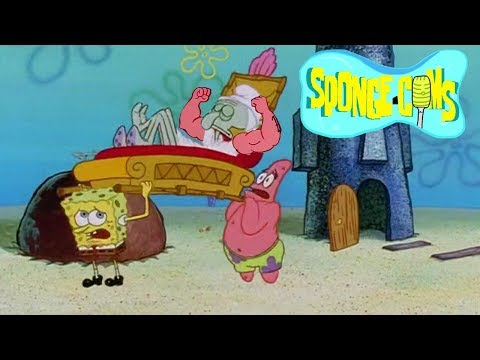 SPONGECOMS: MuscleBob BuffPants/Squidward the Unfriendly Ghost
