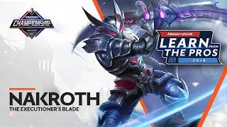 LEARN FROM THE PROS | NAKROTH - THE EXECUTIONER