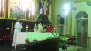 preview picture of video 'Santa Misa de Heraldos del Evangelio en Cotoca'