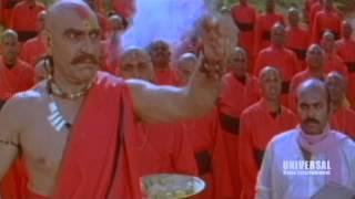 Jagadeka Veerudu Atiloka Sundari Movie Scenes  Action Of Amresh Puri Making Magic On SriDevi
