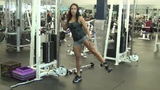 Cable Ankle Strap Exercises : Body Shaping