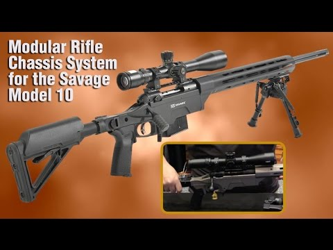 APO's Folding Rifle Stock Upgrades Savage Model 10