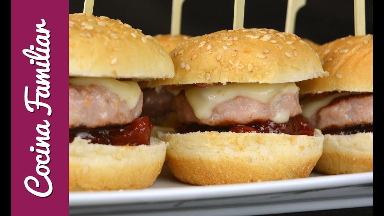 Hamburguesas mini de ternera y pollo | Javier Romero Cap. 80 - Temporada 2