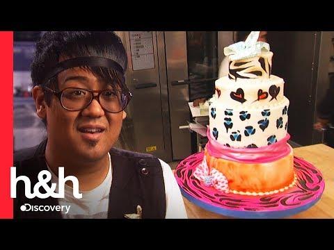 ¡Haré un pastel de mis dulces 16! | El desafío de Buddy | Discovery H&H