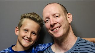 A father and son talk about living with Tourette's