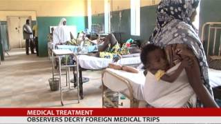 preview picture of video 'MEDICAL TREATMENT: OBSERVERS DECRY FOREIGN MEDICAL TRIP.'