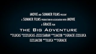 preview picture of video 'Movie Trailer - The Big Adventure'