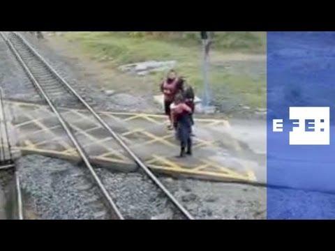Un niño de dos años muere arrollado por un tren de via estrecha en Cantabria