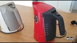 Обзор чайников Braun WK300/WK500/WK600
