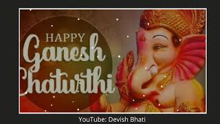Happy Ganesh Chaturthi 2020 whatsapp video status