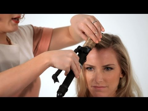 How to Use a Curling Iron   Hair Tutorials