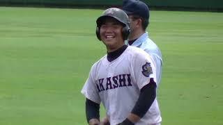 高校野球明石vs関西学院『2018秋季兵庫県大会・2回戦』