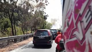 Kebakaran Hutan Dijalan Tiban Kampung1