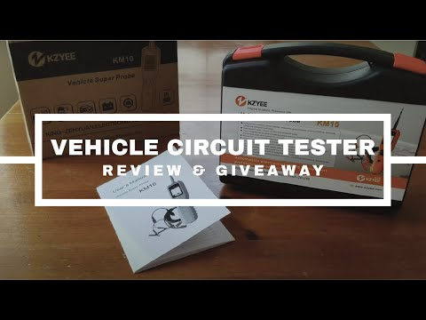 Vehicle Circuit Tester Review & Giveaway - Four Work Modes Automotive Voltage Signal Diagnostic