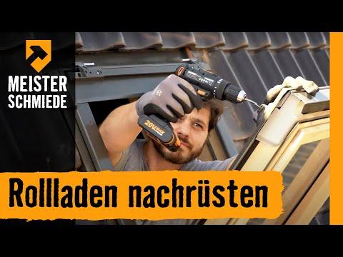 Rollladen nachrüsten: am Dachfenster | HORNBACH Meisterschmiede