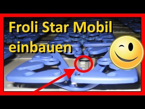 Froli Star Mobil Bettsystem (Matratzenunterlage zur Belüftung) im 36 Jahre alten Wohnmobil einbauen