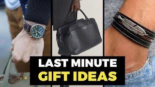 10 Best Last Minute Gift Ideas For Men | Gift Guide For Guys | Alex Costa