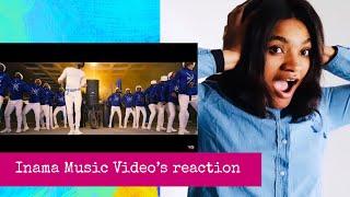 Diamond X Fally Ipupa   Inama (Music Video) French Reaction