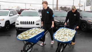 I Bought An Expensive Car Using Only $1 Bills