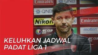 Keluhan Pelatih PSM Makassar terhadap Jadwal Pertandingan Liga 1 2019