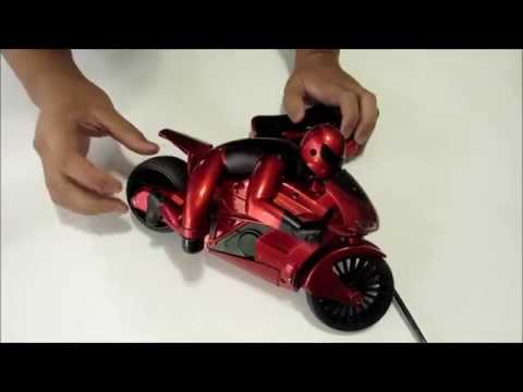 Budget RC Videos-Review of the Black series Lean Machine racing Motorcycle By shift