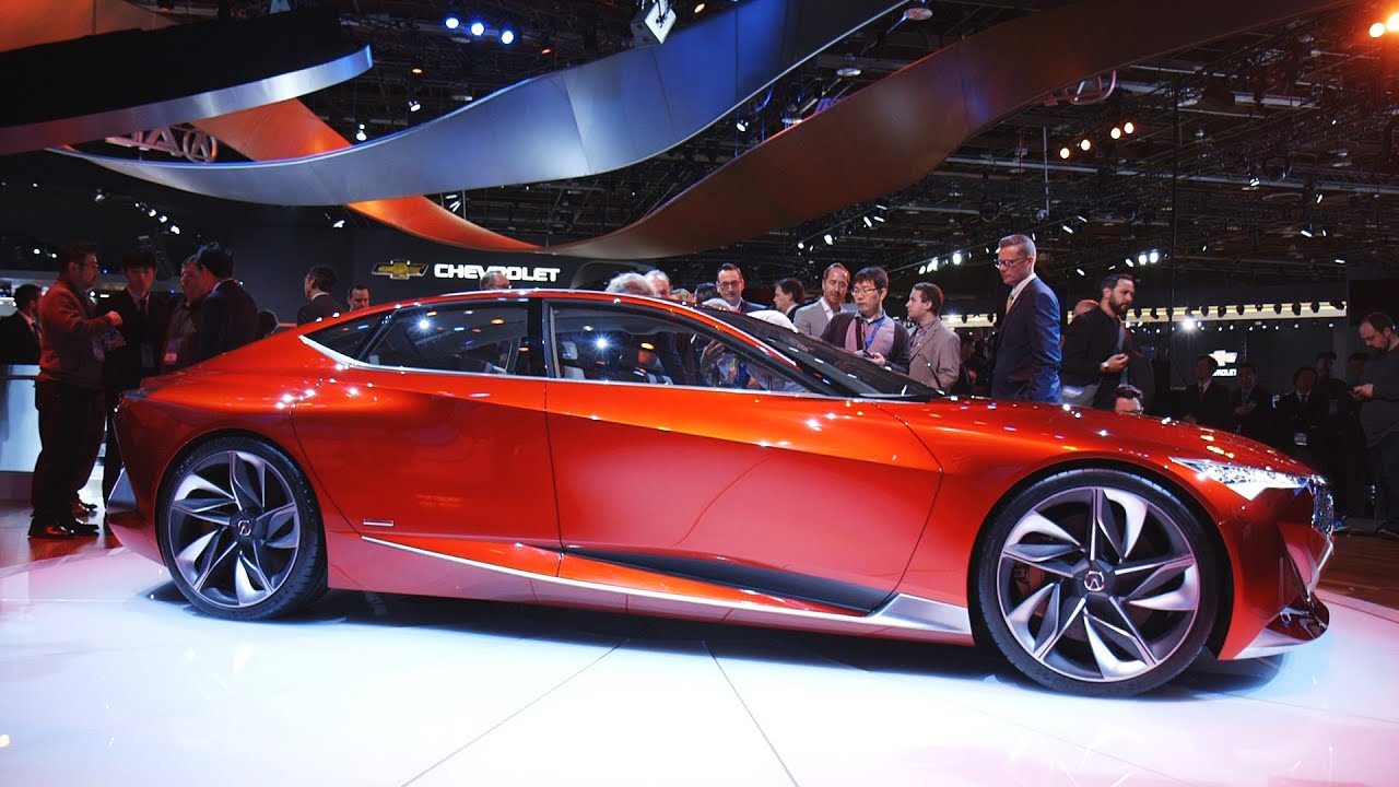 Acura's Precision Concept is weird, beautiful, and a little crazy thumbnail
