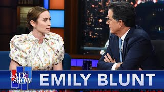 """""""I Look Like His Child"""" - Emily Blunt On Walking With Dwayne Johnson On The Set Of """"Jungle Cruise"""""""