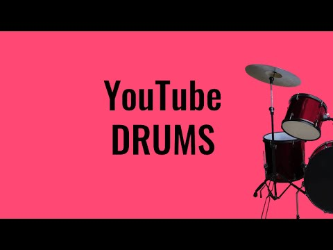 YouTube Drums - Play on YouTube with computer keyboard