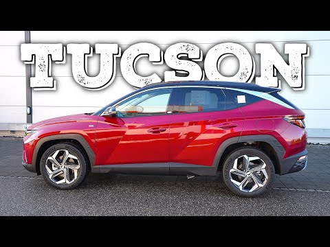 New Hyundai Tucson Hybrid 2021