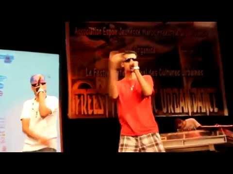 DJ LUCA NAIT  FT  Groupe ACHE3LA  - Ghanzido (Remix) Festival Urban Talent 2012