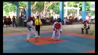kian taekwondo fight 2014