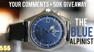 The Blue Alpinist: First Look + Discussion & Uncrate Apologizes + GAW! | 555 Gear