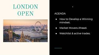 The 5 steps to developing a winning trading mindset & pips on AUDUSD, DAX and GBPUSD [LONDON LIV
