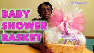 DIY Baby Shower Gift Basket Tutorial - GiftBasketAppeal