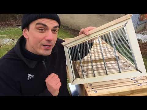 City Box von Bieno Natura, Bienenkasten oder Bienenbox, Imkern auf einer Ebene und Einraumbeute