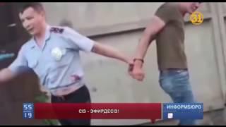 """""""Сіз - эфирдесіз!"""": тәртіп сақшыларына қарсылық көрсеткен азаматтар"""