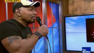 Aaron Neville performs his new song